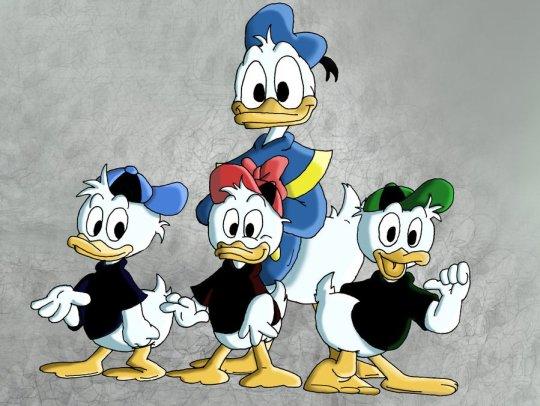 donald_duck_and_nephews, Γουόλτ Ντίσνει