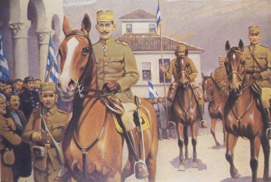 konstantinos, Βαλκανικοί πόλεμοι