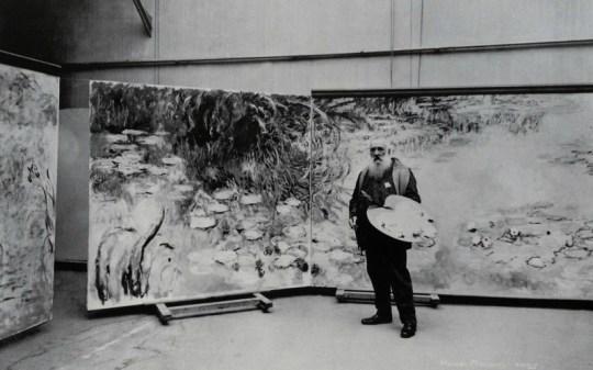 claude-monet, Κλοντ Μονέ, Ζωγράφος