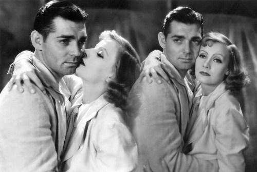"""Clark Gable and Greta Garbo - publicity portrait from the 1931 film """"Susan Lenox, Her Fall and Rise"""""""