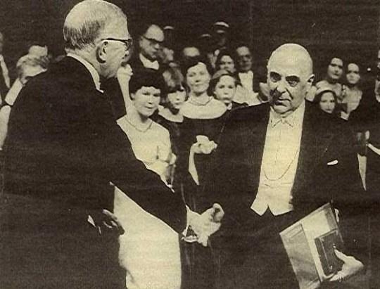 Γιώργος Σεφέρης, Νόμπελ Λογοτεχνίας