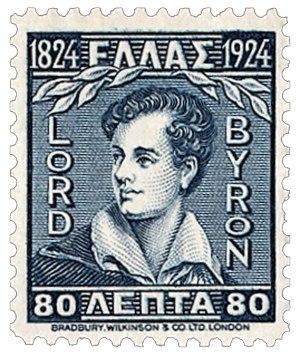 Λόρδος Βύρων, ποιητής, Φιλέλληνας,