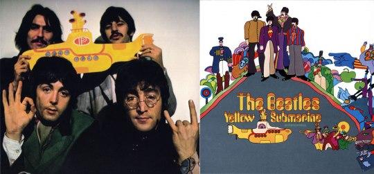 Beatles, «Yellow Submarine».