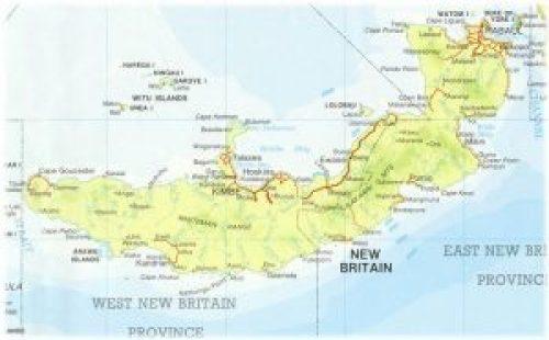 το νησί της Νέας Βρετανίας,