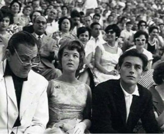 Βισκόντι, Romy Schneider, Alain Delon, Επίδαυρος