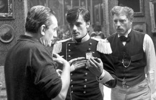 Luchino Visconti, Alain Delon και Burt Langaster