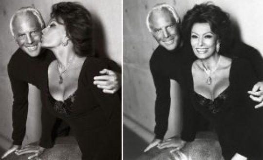 Sophia Loren, Armani