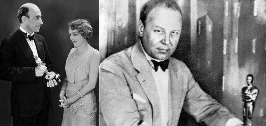 Mary Pickford, Emil Jannings, Oscar, 1929, Hollywood,