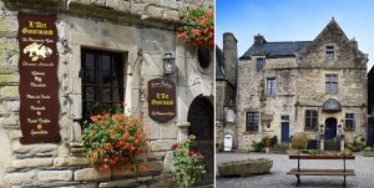 Rochefort-en-Terre, France, Γαλλία, Μεσαιωνικό χωριό, λουλούδια, nikosonline.gr