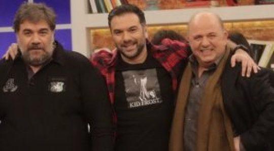 Γρηγόρης Αρναούτογλου, Νίκος Μουρατίδης, βραδινό talk show, 2night Show, Antenna, Τηλεόραση, nikosonline.gr