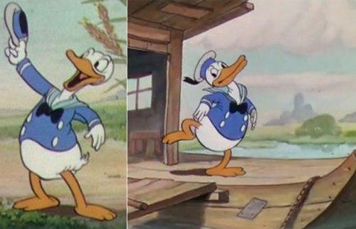 Ντόναλντ Ντακ,The Wise Little Hen, Donald Duck