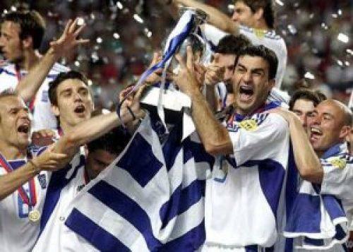 Εθνική ομάδα ποδοσφαίρου της Ελλάδος, EURO 2004