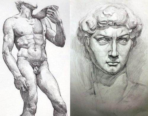 Michelangelo- David, Μιχαήλ Άγγελος -Δαβίδ,