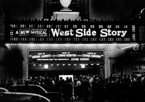 West Side Story, Leonard Bernstein, Broadway.