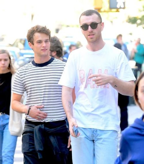 paparazzi, Sam Smith, Brandon Flynn, gay couple, σαμ σμιθ, ζευγάρι, nikosonline.gr