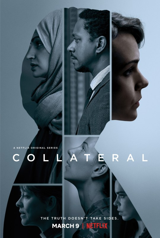 Collateral, εγγύηση, 4 ημέρες,Carey Mulligan, NETFLIX, TV SERIES, nikosonline.gr