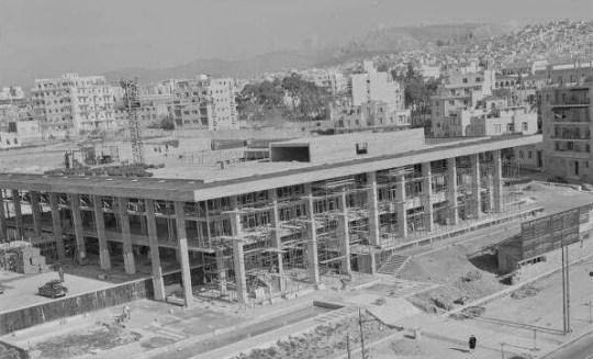 AMERIKANIKI PRESVEIA, KTIRIO, ATHINA, Walter Gropius, Bauhaus, US EMBASSY ATHENS, nikosonline.gr