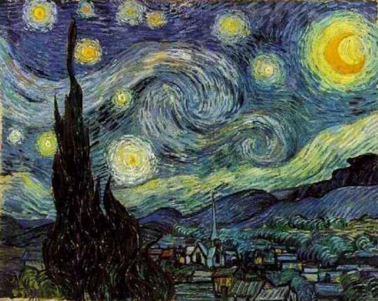 """""""Έναστρη Νύχτα"""" Van Gogh, ΤΟ BLOG ΤΟΥ ΝΙΚΟΥ ΜΟΥΡΑΤΙΔΗ, nikosonline.gr"""