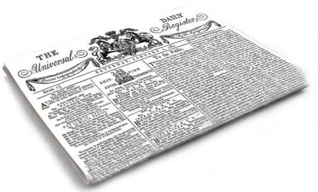 The Times Λονδίνου, Daily Universal Register, ΤΟ BLOG ΤΟΥ ΝΙΚΟΥ ΜΟΥΡΑΤΙΔΗ, nikosonline.gr