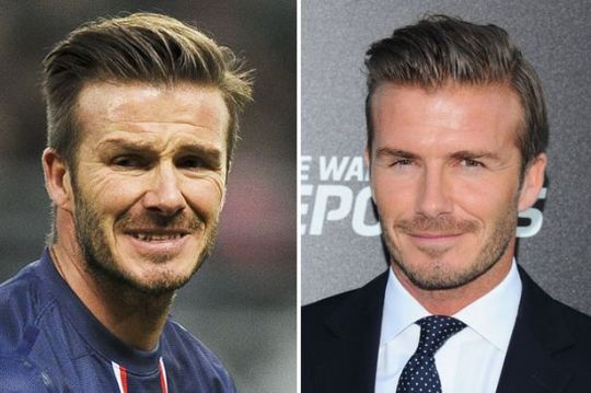 David Beckham, γέρασε, ΑΣΠΡΕΣ ΤΡΙΧΕΣ, ΡΥΤΙΔΕΣ, ΝΤΕΙΒΙΝΤ ΜΠΕΚΑΜ, nikosonline.gr