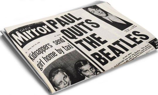 The end of Beatles, η διάλυση των Beatles, ΤΟ BLOG ΤΟΥ ΝΙΚΟΥ ΜΟΥΡΑΤΙΔΗ, nikosonline.gr