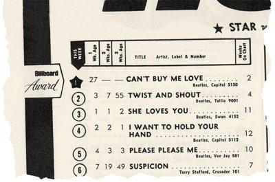 ακατόρθωτο, Μπιτλς, επιτυχίες, top 5, Billboard hot 100, chart, The Beatles, record, hits, nikosonline.gr
