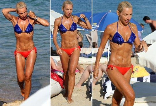 τηλεπαρουσιάστριες στην παραλία, TV persones, TV girls, paralies, diakopes, παραλίες, μαγιό, διακοπές, nikosonline.gr