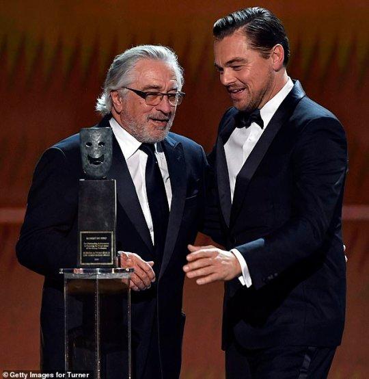 Και πάλι υπέροχος, βραβεία SAGA, Screen Actors Guild Awards, Robert De Niro, Ρόμπερτ ντε Νίρο, Hollywood, nikosonline.gr