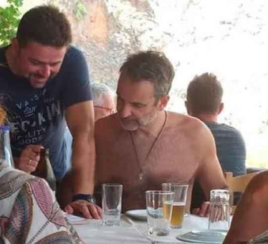 Ο πρωθυπουργός, διακοπές, diakopes, Κυριάκος Μητσοτάκης, Kyriakos Mitsotakis, touristas, nikosonline.gr