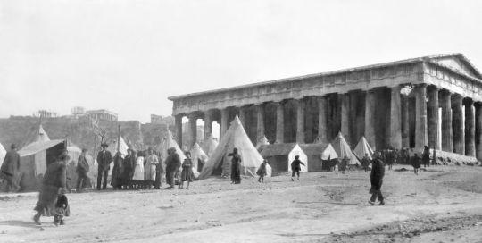 Αρχαίος Ναός, καταυλισμός προσφύγων, Ναός Ηφαίστου, Αρχαία Αγορά, Agora, Athens, Temple Ifaistos, nikosonline.gr