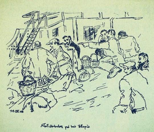 Giannis Ritsos, Art, Η ζωγραφική του Γιάννη Ρίτσου, Ritsos paintings, εικαστικά, ζωγραφική, ποιητής Γιάννης Ρίτσος, nikosonline.gr