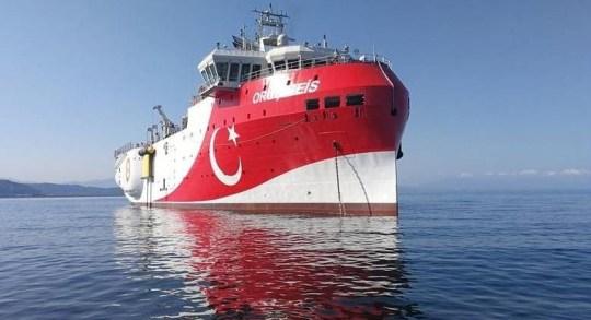 Πες αλεύρι, Υφαλοκρηπίδα, ΑΟΖ, NAVTEX, διεθνή ύδατα, Τούρκοι, Oruç Reis, Recep Tayyip Erdogan, Πρόεδρος δημοκρατίας, Κυριάκος Μητσοτάκης, Ερντογαν, nikosonline.gr
