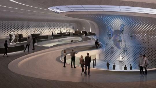 Σάλος μηνυμάτων για το νέο Μουσείο, ΝΕΟ ΜΟΥΣΕΙΟ ΣΠΑΡΤΗΣ, NEW SPARTI MUSEUM, ZAHA HADID, ΣΧΟΛΙΑ, ΑΡΧΙΤΕΚΤΟΝΙΚΗ, nikosonline.gr