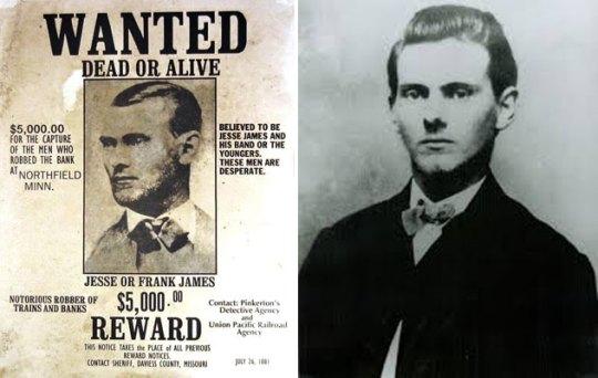 Τζέσε Τζέιμς, Jesse James, ΤΟ BLOG ΤΟΥ ΝΙΚΟΥ ΜΟΥΡΑΤΙΔΗ, nikosonline.gr