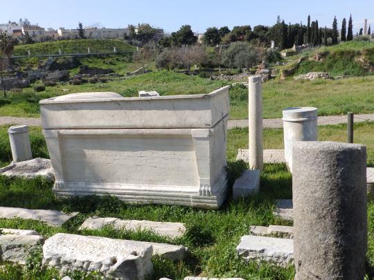 Μια βόλτα στον κήπο του Κεραμεικού, Keramikos garden, Αρχαιολογικός χώρος, Κεραμεικός, nikosonline.gr
