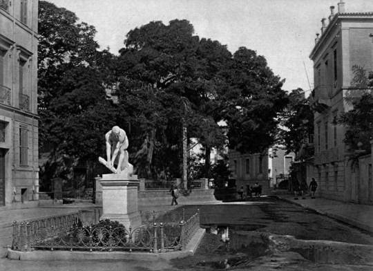 """Η ιστορία και ο βανδαλισμός του """"Ξυλοθραύστη"""", άγαλμα, γλυπτό, Δημήτρης Φιλιππότης, ευνουχισμός, agalma, glypto, Dimitris Filippotis, nikosonline.gr"""