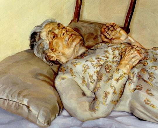 Lucien Freud, Ζωγράφοι που έκαναν το πορτραίτο της μητέρας τους, painters, mother, portrait, zografoi, εικαστικά, nikosonline.gr