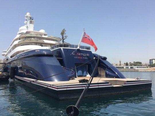 Στην Σκιάθο ο σεϊχης του Κατάρ, Qatar, θαλαμηγός, «Al Mirqab», Εμιράτο, Hamad bin Jassim bin Jaber Al Thani, Χαμάντ μπιν Τζασίμ μπιν Τζαμπέρ αλ Θάνι, nikosonline.gr