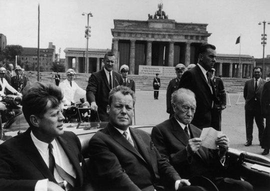 Ταυτότητα της ημέρας, J.F.K. Berlin,  Τζον Κένεντι- Βερολίνο, ΤΟ BLOG ΤΟΥ ΝΙΚΟΥ ΜΟΥΡΑΤΙΔΗ, nikosonline.gr