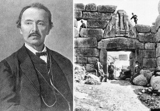 Η ταυτότητα της ημέρας, Heinrich Schliemann- Mycenae, Ερρίκος Σλίμαν - Μυκήνες, ΤΟ BLOG ΤΟΥ ΝΙΚΟΥ ΜΟΥΡΑΤΙΔΗ, nikosonline.gr