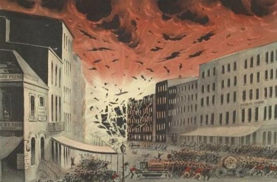 Η ταυτότητα της ημέρας, Great New York City Fire of 1845, BLOG ΤΟΥ ΝΙΚΟΥ ΜΟΥΡΑΤΙΔΗ, nikosonline.gr