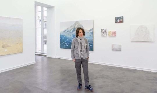 Μαρίνα Καρέλλα, Με διεθνή καριέρα, Marina Karella, zografos, art, ζωγράφος, γλύπτρια, εικαστικά, nikosonline.gr
