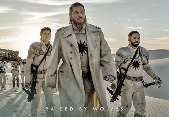 Travis Fimmel, Raised by the wolfs, HBO, nikosonline.gr