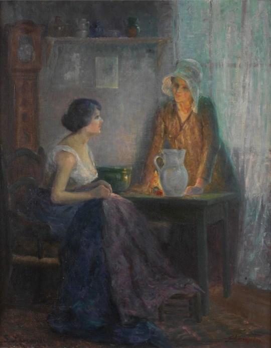 Σοφία Λασκαρίδου, πρωτοπόρος ζωγράφος, αγνόησε η πολιτεία, εικαστικά, 19ος αιώνας, Sofia Laskaridou, painter, zografos, Καλλιθέα, nikosonline.gr