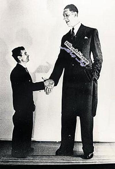 10 تن از بلندقدترین مردان تاریخ