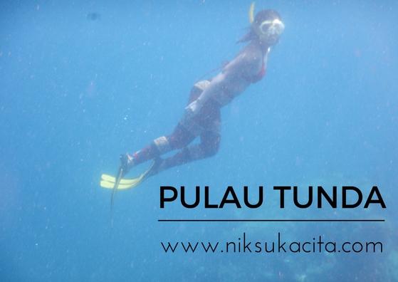 Bawah lautnya pulau Tunda - Indonesia