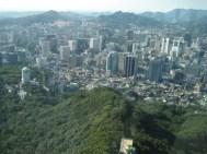 Blick über Seouls Hochhausmeer