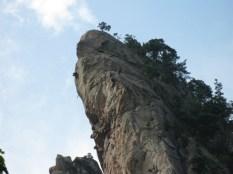 Wer sieht die Kletterer?