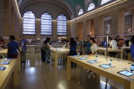 der Apple Store im Grand Central
