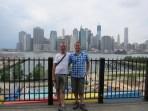 Pause im Brooklyn Bridge Park